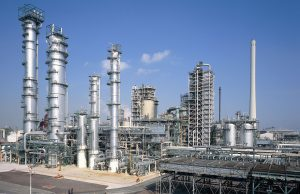 Pressure Vessels in Refinery